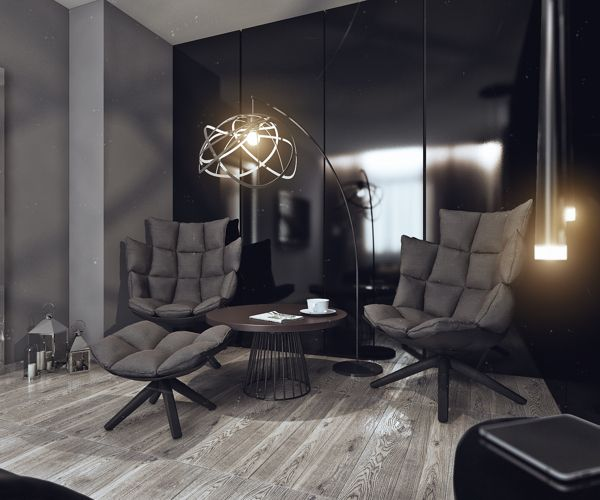 Sleek Studio Room Ideas You Need To Know: Creative Lighting Additions Offer A Modern Vibe ~ stevenwardhair.com Tips & Ideas Inspiration