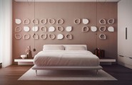 Spanish Decor With The Elegant Design : Creative Pink Bedroom Design