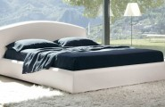 Elegant Touch Of Modern Bedroom Design : Crisp And Minimalist Look Of The Fabulous Florence Bed Meets Outdoor