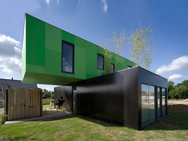 Breathtaking Container House For More Inspirational Ideas : CrossBox Shipping Container House