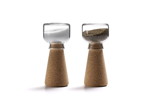 Eco Friendly Cork Design As Furniture For Your House: Cute Corkway Par Salt Pepper Shakers With Minimalist Modern Design Ideas
