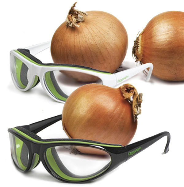 Chic Kitchen Gadgets To Save Your Time And Energy: Cute Onion Goggles Design For Kitchen Interior Decoration Ideas