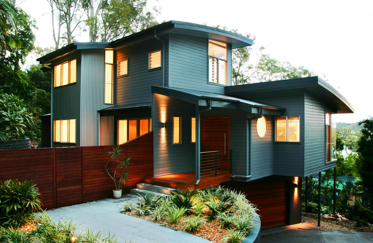 Smart Wooden House For Environment Friendly Living Place: Cute Wood Home Design Idea