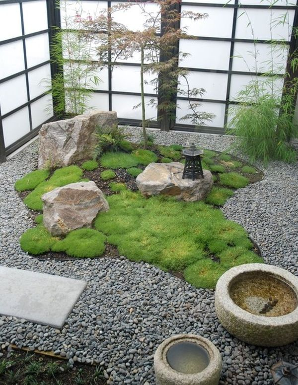 28 Fascinating Japanese Garden Design Ideas : Daft And Compact Japanese Garden With Shoji Screens Perfect For The Contemporary Home