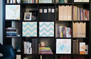 Visual Ikea Expedit Hack With Artistic Design : Dans Le Townhouse Ikea Hack Expedit