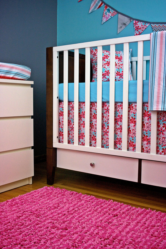Cherry Blossom Baby Bedding For Your Sweet Baby Beauty : Decorating The Nursery Bedroom