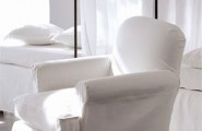 Enhancing Room Color For A Lively Home And How It Affects Your Mood : Delicious White Chair