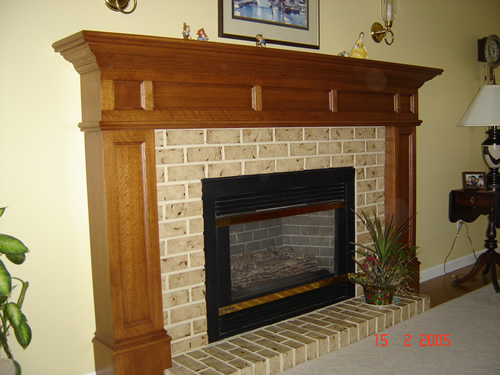 Fireplace Mantel Kits Ideas: Different Styles Of Fireplace Mantel Designs