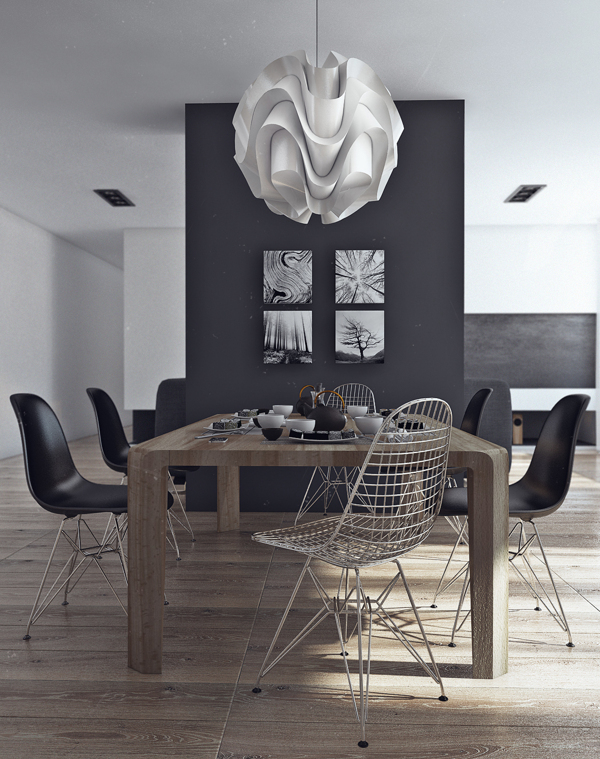 Sleek Studio Room Ideas You Need To Know: Dining Room Decor That Is Simple And Elegant