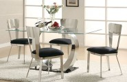 Dining Room In Casual Flair Furnished With Rustic Furniture : Dining Room Sleek Casual