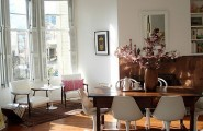 Stunning Flower Arrangements For Your Living Space: 67 Design Ideas : Dining Table Flowers