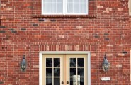 Inspiring Double Entry Doors For Home With Clear Design : Double Entry Doors Cleverly Inspired