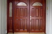 Inspiring Double Entry Doors For Home With Clear Design : Double Entry Sidelight