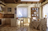 Exciting Kitchen Dining Ideas For Small House : Dramatic Dining Set Cream Kitchen