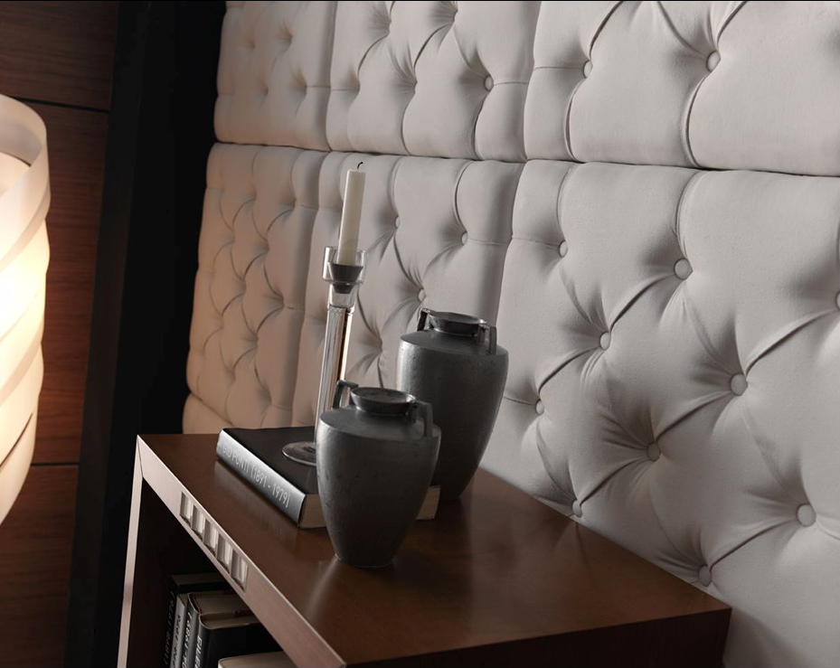 Elegant Padded Wall Panels For New Classy Display : Dreamwall Capitone Padded Wall Panels