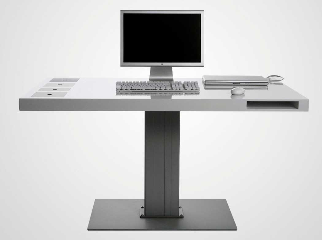 Minimalist Computer Desk For Better Productivity : Elegant And Modern Modern Computer Desk Furniture For Office Prestige