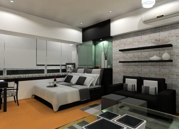Bedroom Ideas For Young Adults Boys And Girls: Elegant Bedroom Ideas For Young Adults With Black Sofa ~ stevenwardhair.com Bedroom Design Inspiration