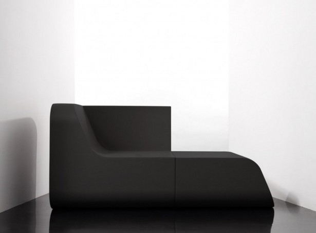 Versatile Sofas In Own House Or Apartment: Elegant Black Dual Cut Transformable Versatile Sofas Modern Design ~ stevenwardhair.com Apartments Inspiration