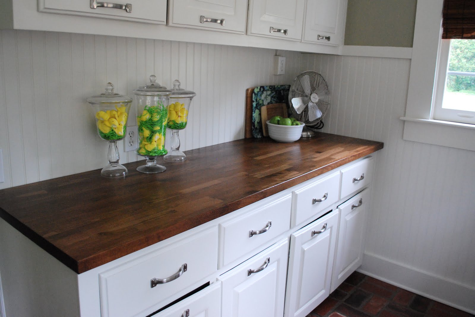 Do Up Your Kitchen With Well Designed Butcher Block Countertops From Ikea : Elegant Butcher Block Countertops