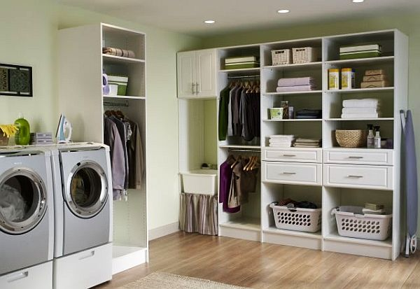 Gorgeous Laundry Room Interior Inspiration: Elegant Laundry Room Design