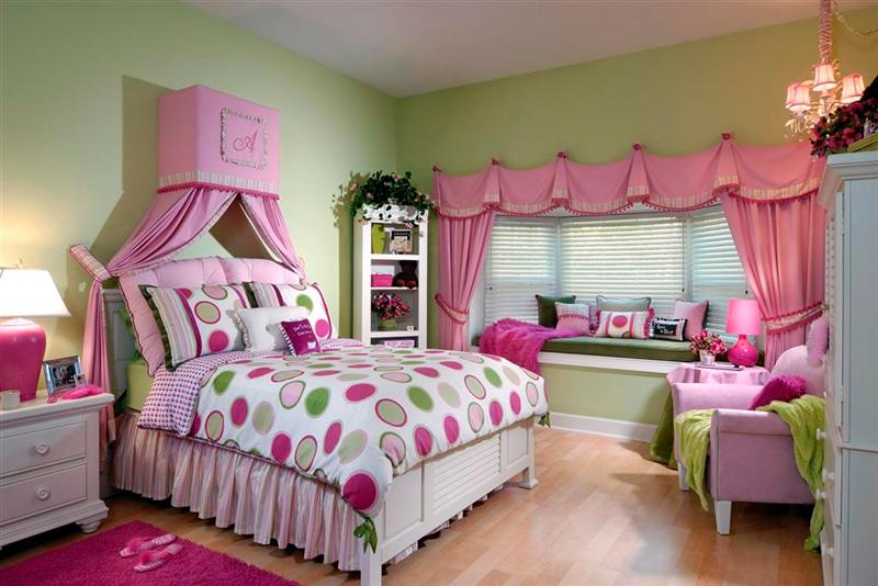 Little Girls Bedroom Ideas From Vintage To Kawaii: Elegant Minimalist Little Girls Bedroom Ideas Wooden Style Room Decor
