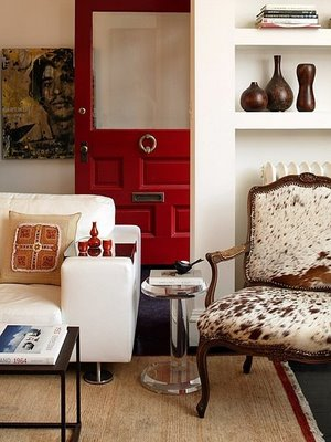 Stunning Red Door Interiors Be Narcissist: Elegant Modern Style Red Door Interiors Design Ideas