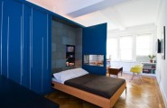 Efficient Small Space Bed For Space Savings : Elegant Space Saving Kit With Murphy Beds Ideal For Compact Studio Apartments