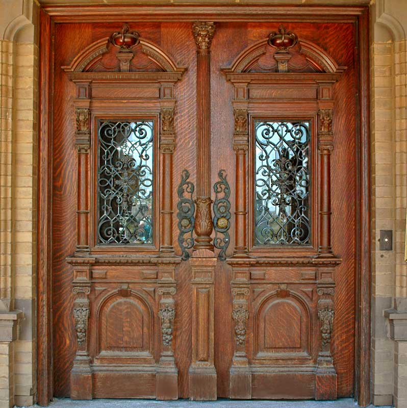 Wood Doors: Simple But Enchanting : Elegant Wood Door Design For Homes