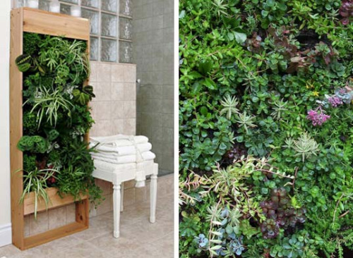 Vertical Gardening Ideas For The Small Spaced House Design : Elt Livingwall Garden