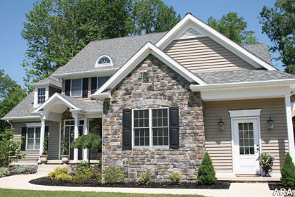 Strengthen Your Exterior Design With Natural Rock Siding For Houses: Enrich Home Value With Beauty Of Stone