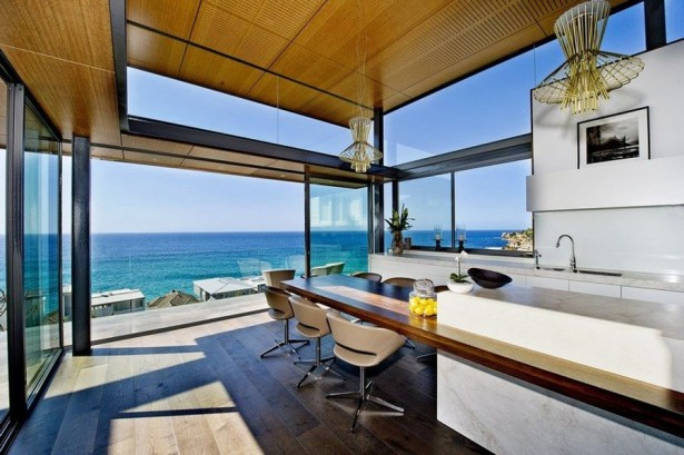 Beautiful Dream House In Sydney: Ergonomic Kitchen With Dining Area ~ stevenwardhair.com Home Design Inspiration
