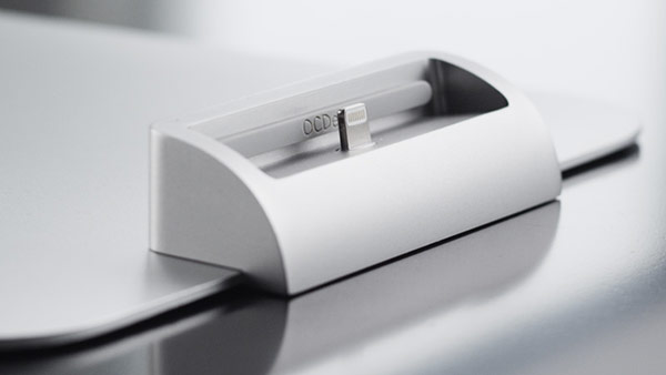 Sophisticated IPhone Docking Station Designed In Compact Shape : Exciting Design Ipod Dock An Modern Apple Product