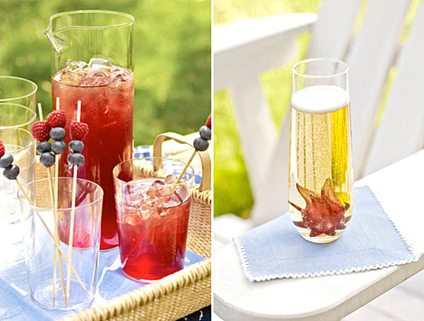 Summer End Party For Unforgettable Moment : Exciting Outdoor Table Decor End Of Summer Party Drinks1