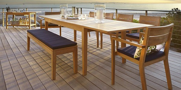 Make Your Dining Room Elegant With Expandable Dining Table : Expandable Outdoor Dining Table