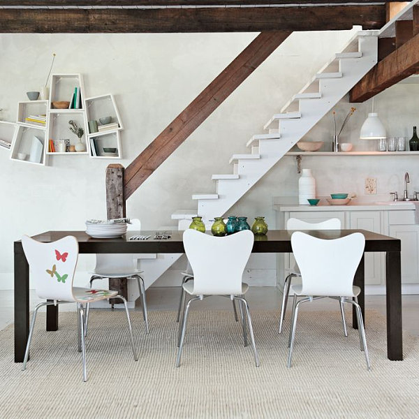 Make Your Dining Room Elegant With Expandable Dining Table: Expandable Parsons Dining Table ~ stevenwardhair.com Dining Room Design Inspiration