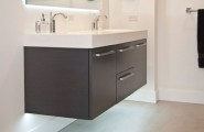 Floating Cabinet And Vanity Set For Every Home : Exquisite Floating Sink Cabinet For Delectable Interiors