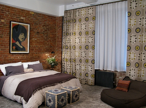 Exotic African Theme For Cozy Interior Space: Exquisite Loft Apartment Dedroom Blends The Eclectic With The African ~ stevenwardhair.com Interior Design Inspiration