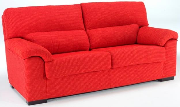 Modern Sofas For More Comfortable Living Room : Extravagant Red Modern Style Sofas Baratos Design Ideas
