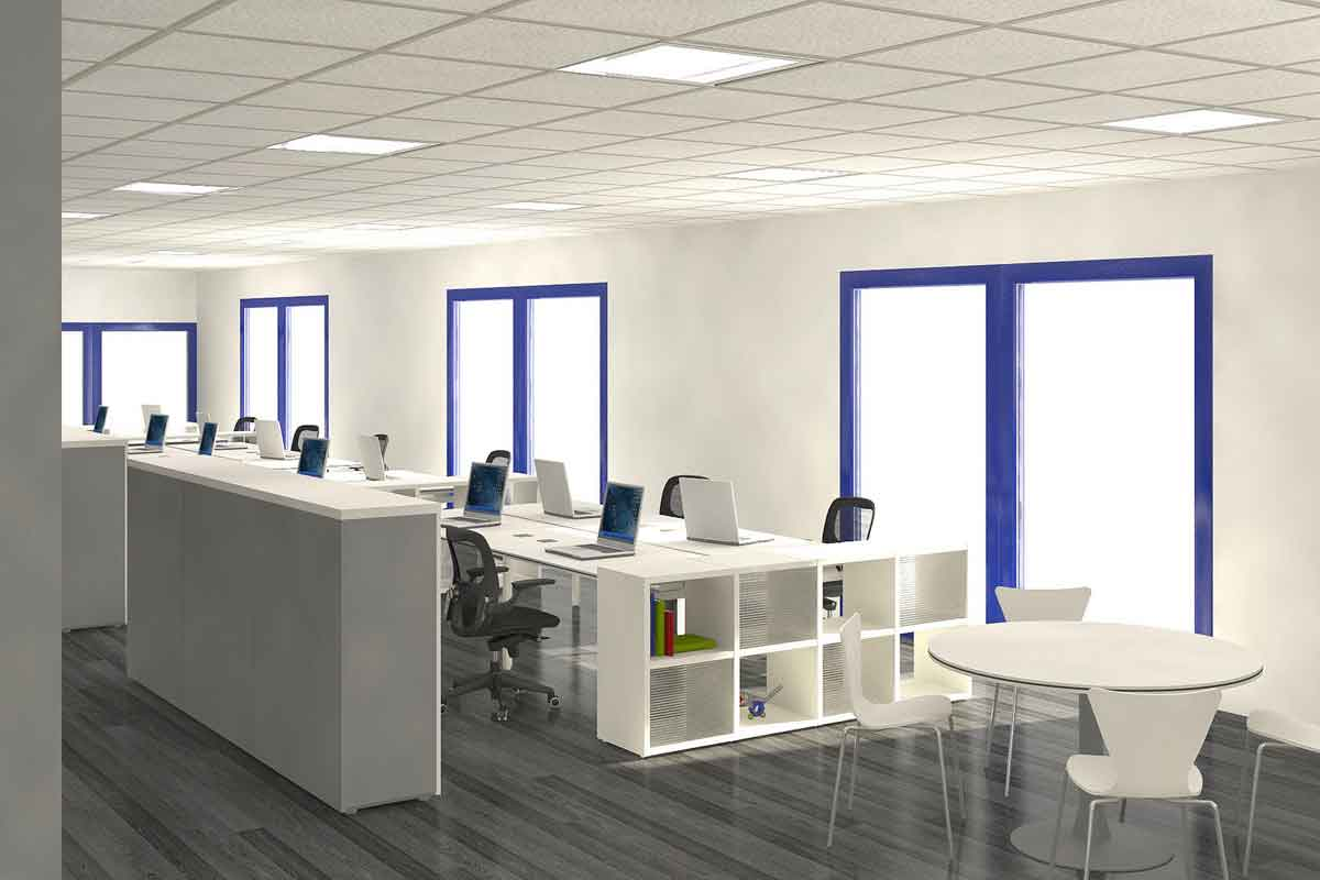 Perfect Commercial Office Interior Design Ideas All About Modern Interiors: Extravagant White Bright Commercial Office Interior Design Ideas