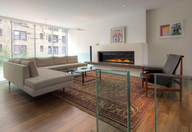 Modern Townhouse Design For Your Lovely Homestead: Fabulous Position In Urban House NYC Living Room ~ stevenwardhair.com Architecture Inspiration