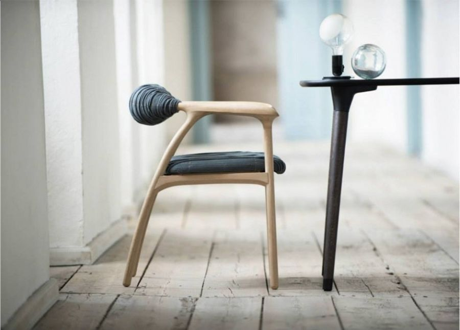 Incredible Unique Chair Inspirations With Heptic Chair: Fancy Haptic Chair Combines Minimalist Form With Special Design