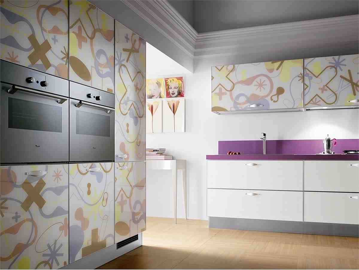 Kitchen Cupboard Doors Performance And View: Fancy Kitchen Cupboard Doors Design Contemporary Kitchen Design Interior