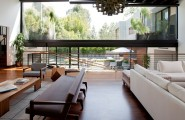 Exciting Living Space In Los Angeles With Amazing Environment : Fancy Los Angeles Residence Interiors