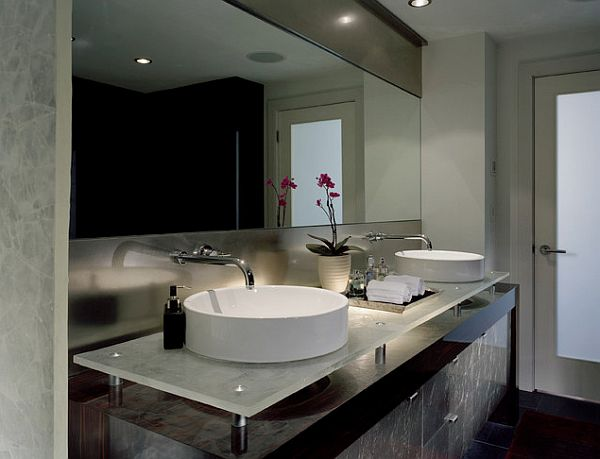 Bathroom Design For Tranquil Environment: Fancy Master Bathroom