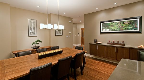 Stylish Dining Room Sticking Out Modesty Ideas In Your Home: Fancy Rectangular Dining Table