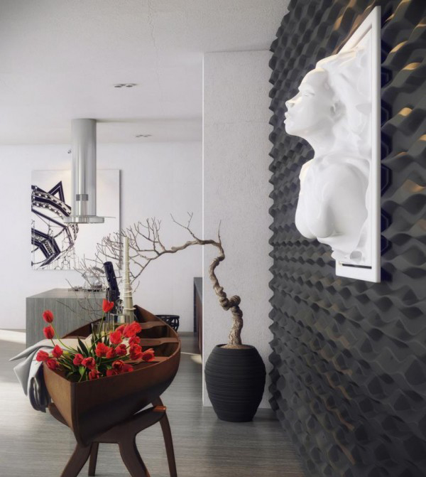 Charming Asian Modern Interiors: Fascinating And Fabulous Art Additions Spice Up The Contemporary Home