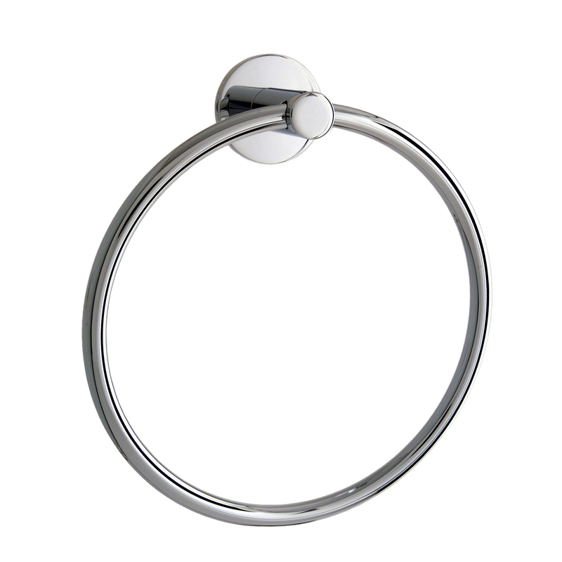 Inspiring Towel Ring Design To Furnish Minimalist Bathroom : Fascinating Towel Ring Design Cool Wall Mounted Fitting