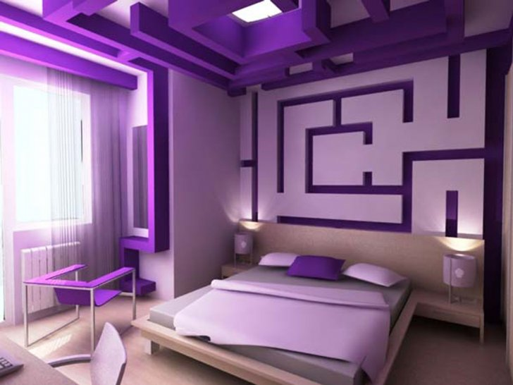 Bedroom Ideas For Young Adults Boys And Girls : Femine Bedroom With Labirynth Theme Bedroom Ideas For Young Adults