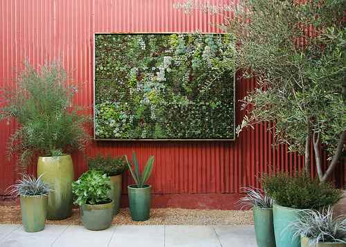 Vertical Gardening Ideas For The Small Spaced House Design : Floragrubb Wall Gardening