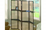 Variant Folding Screens Room Dividers For Your True Inspiration : Folding Screen Room Divider